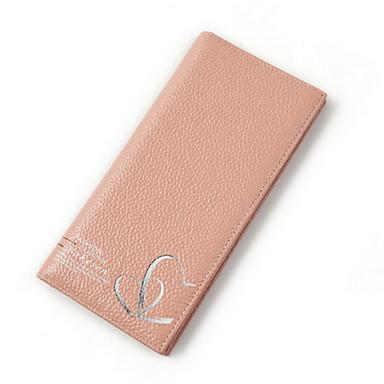 Damen-Alltag-Brieftasche-Kuhfell