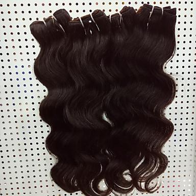 ブラジリアンヘア バージンヘア ウェーブ 人間の髪織り 4個 ホット販売 4 個 0.2