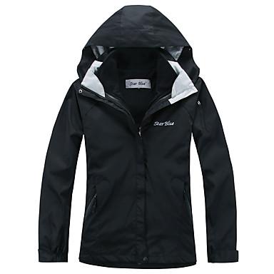 Damen 3-in-1 Jacken Außen Winter Wasserdicht warm halten Windundurchlässig Fleece Innenfutter Overalls Trainingsanzug Skifahren Camping &