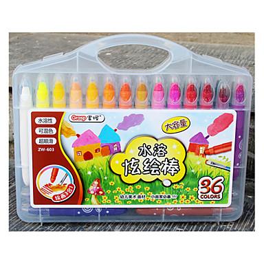 36色の子供の安全、非毒性の豪華な色の油絵スティック
