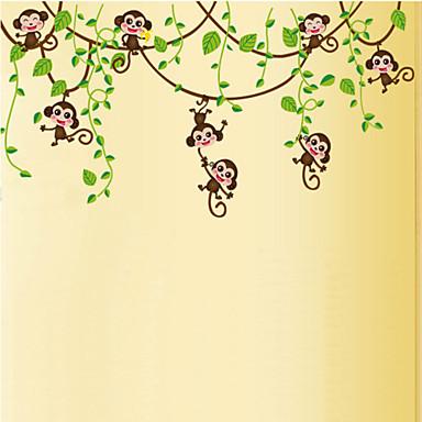 Djur Botanisk Väggklistermärken Väggstickers Flygplan Dekrativa Väggstickers Material Kan ompositioneras Hem-dekoration vägg~~POS=TRUNC