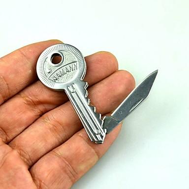 acampar al aire libre de las herramientas de mano táctica de mini llavero de un cuchillo plegable del bolsillo de supervivencia hoja de