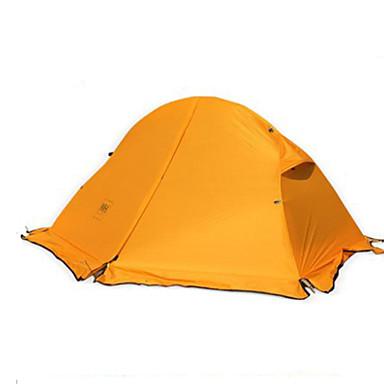 Naturehike 1 Pessoa Barracas de Acampar Leves Dupla Camada Poste Dome Barraca de acampamento Um Quarto  Ao ar livre A Prova de Vento >3000 mm  para Acampar e Caminhar 205*110*950 cm / Ultra Leve (UL)