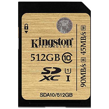 Kingston 512GB SD kortti muistikortti UHS-I U1 Class10