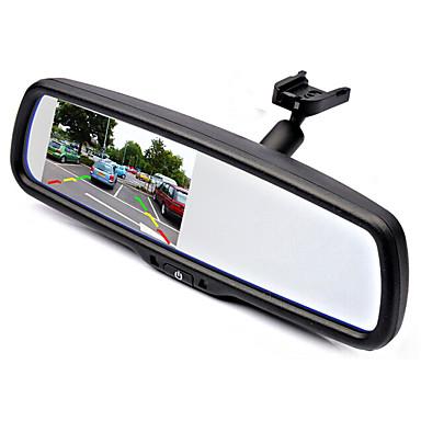billige Bil-DVR-klaring wg34 480p bil DVR 170 graders vidvinkel 4,3 tommers dash cam med parkering overvåking ingen bilopptaker