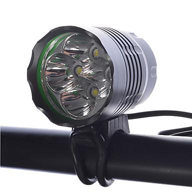 LED taskulamput Otsalamput Pyöräilyvalot LED Cree XM-L T6 Pyöräily Ladattava Kompakti koko Erityiskevyet Himmennettävissä 18650 4000
