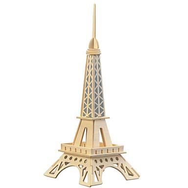 Holzpuzzle Spielzeuge Turm Berühmte Gebäude Eiffelturm Profi Level Holz Eisen Jungen Mädchen 1 Stücke