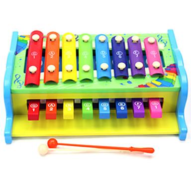 敲击木琴 知育玩具 おもちゃ アイデアジュェリー 楽しい ウッド 1 小品 男の子 女の子 こどもの日 ギフト