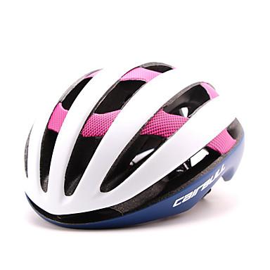バイクヘルメット 23 通気孔 CE サイクリング 調整可 / ワンピース / 超軽量(UL) / スポーツ EPS ロードバイク / レクリエーションサイクリング / サイクリング / バイク / マウンテンバイク