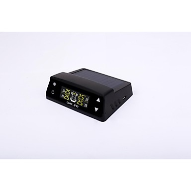 太陽エネルギーディスプレイカーディスプレイタイヤ空気圧検出器付きtpms