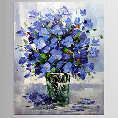 Hang malte oljemaleri Håndmalte - Still Life Moderne Parfymert Lerret