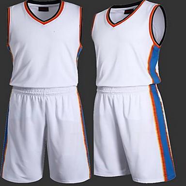 男性用 子供用 半袖 バスケットボール ランニング トレーナー トップス バギーショーツ 高通気性 モイスチャーコントロール 快適