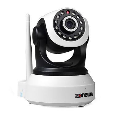 ZONEWAY 1.0 MP Vevnitř with Den a noc IR-střih Den a noc Detekce pohybu Dálkový přístup Infračervený řez Plug and play) IP Camera