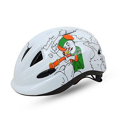 N / A 通気孔 サイクリング 調整可 スポーツ 青少年 EPS+EPUレザー ロードバイク サイクリング / バイク ウィンタースポーツ