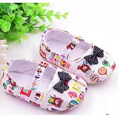 Kinder Baby Schuhe Stoff Lauflern Loafers & Slip-Ons Für Normal Weiß