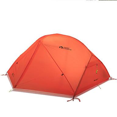 MOBI GARDEN 2 Personen Zelt Doppel Camping Zelt Einzimmer Automatisches Zelt warm halten Wasserdicht Tragbar Extraleicht(UL)