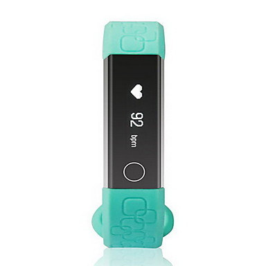 Smart armbånd iOS / Android Pulsmåler / Kalorier brent / Lang Standby Finger Sensor TPU / Silikon Lilla / Grønn / Rosa / Pekeskjerm / Vannavvisende / Bluetooth 4.0 / Kamera / Vekkerklokke