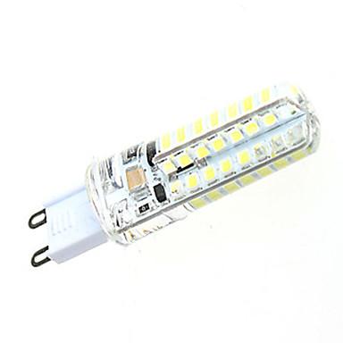 3W 2800-3200/4500-6000 lm G9 LED Doppel-Pin Leuchten T 64 Leds SMD 2835 Dekorativ Warmes Weiß Natürliches Weiß Wechselstrom 220-240V