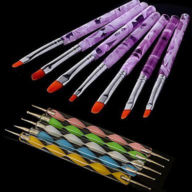 Manucure Brosses Kit pour ongles Outils Kits Classique Haute qualité Quotidien