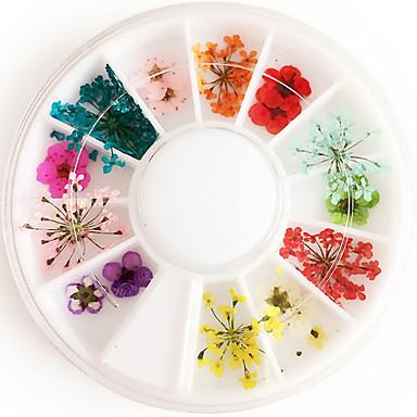 povoljno Umjetno drago kamenje&Dekoracije-1 pcs Nail Art Design Cvijet / Moda Dnevno