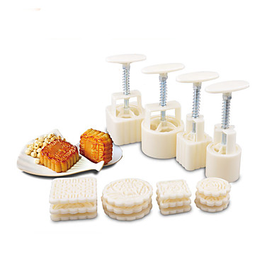 1set kjøkken Verktøy Plast Multifunktion Gjør Det Selv Støpeform Til Småkaker