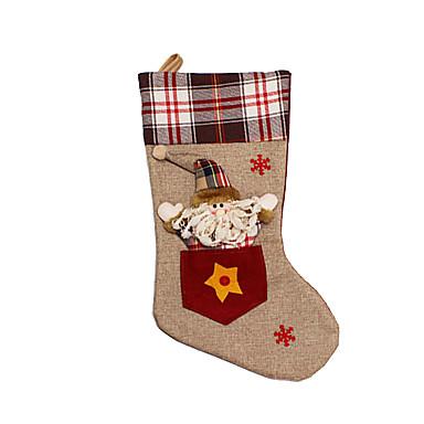 クリスマス向けおもちゃ ギフトバッグ ホリデー用品 3 クリスマス クロス アイボリー 白 ゴールド