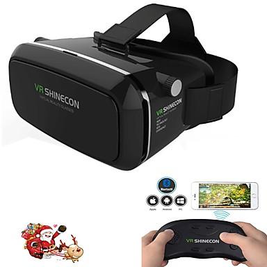 virtuaalitodellisuus kuulokkeet vr shinecon 3D elokuva peli lasit älypuhelimen WHI kauko peliohjain