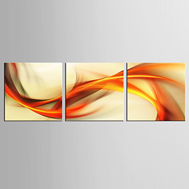 Estampado Laminado Impressão De Canvas - Abstrato / Fantasia Realismo / Modern