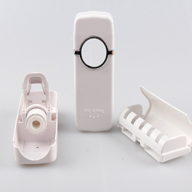 حاملة فرشاة الأسنان الحديث PVC 1 قطعة - حمام الفندق