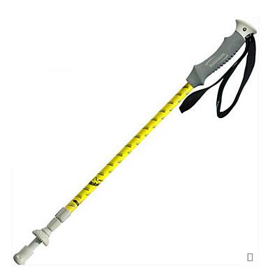 3 ステッキ 徒歩用スティック ハイキングポール 135センチメートル(53インチ) 堅牢性 耐久 アルミ 炭素繊維 アルミ合金 スノーウォーキング ハイキング カントリー ウォーキング