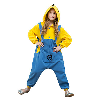 pyjamas kigurumi mini hommes jaunes combinaison de pyjamas. Black Bedroom Furniture Sets. Home Design Ideas