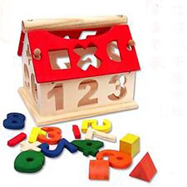 Blocos de Construir / Brinquedo Educativo 1pcs Casa Novidades / Adorável Para Meninos Dom