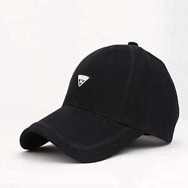 Hattu Superlyhyt Miesten Unisex Ultraviolettisäteilyn kestävä varten Baseball Kirjain ja numero Spandex Kesä Syksy
