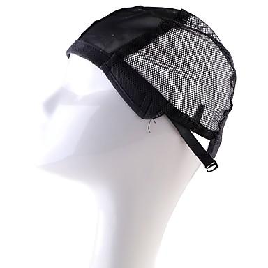 Wig Accessories قبعات الباروكة 2Pcs/pack يوميا كلاسيكي أسود البيج