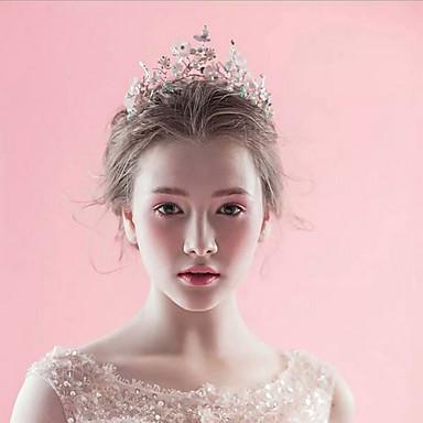 Legierung Tiaras Kopfbedeckung Hochzeitsgesellschaft elegant klassisch femininen Stil