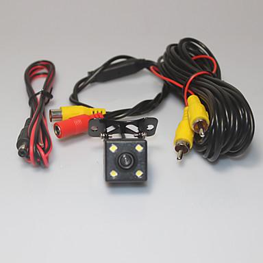 مساعدة وقوف السيارات سيارة نظام كاميرا للرؤية الخلفية 4 أدت اتفاقية مكافحة التصحر HD عكس الرؤية الخلفية عكس عالمي كاميرا احتياطية للرؤية