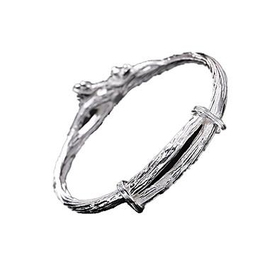 Damen Armreife individualisiert Handgemacht Sterling Silber Schmuck Für Alltag Normal