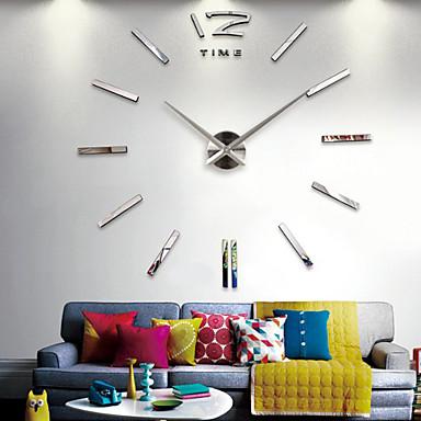 Moderno/Contemporâneo Escritório/Negócio Casas Família Escola/Graduação Amigos Relógio de parede,Inovador Vido 120*120CM/47.2*47.2inch