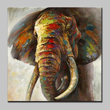 ハング塗装油絵 手描きの - ポップアート 近代の キャンバス