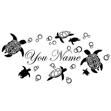 Eläimet Muoti Maisema Wall Tarrat Lentokone-seinätarrat Koriste-seinätarrat,Vinyyli materiaali Pestävissä Irroitettava Siirrettävä