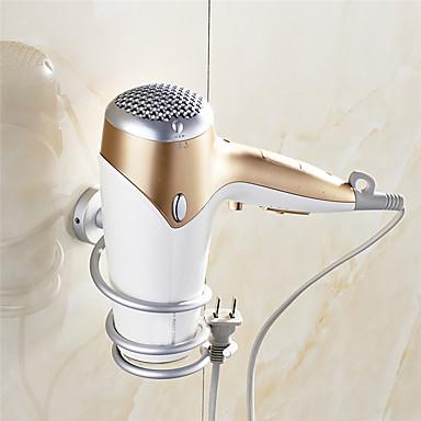 Prateleira de Banheiro Moderna Alumínio 1 Pça. - Banho do hotel