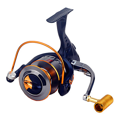 Fishing Reels بكرة دوارة 2.6:1 نسبة أعداد التروس والاسنان+16.0 الكرة كراسى توجيه اليد قابلة تغيير الصيد العام - XF3000