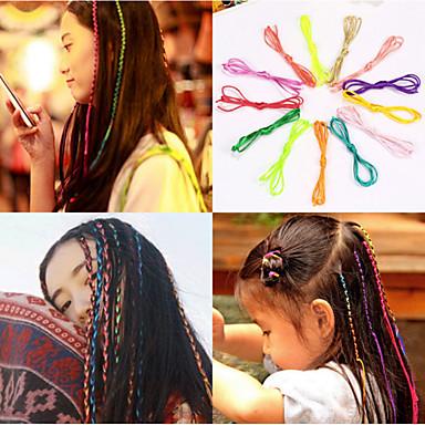 Hårband hår tilbehør polyester Parykker Tilbehør Dame stk cm Daglig Klassisk Høy kvalitet