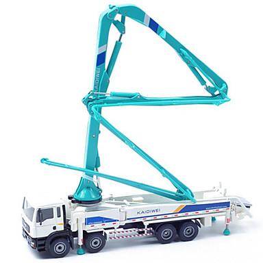 Betongpumpe Leketrucker og byggebiler Lekebiler 1:60 Inntrekkbar Metallisk Plast ABS 1 pcs Barne Gutt Jente Leketøy Gave