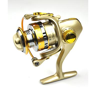 Spinne-hjul 5.2:1 Gear Forhold+13 Kuglelejer Hand Orientering ombyttelig Havfiskeri / Ferskvandsfiskere - DC150