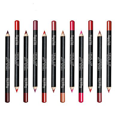 Canetas & Lápis Delineador de Lábios Gloss Colorido / Cobertura / Longa Duração Maquiagem Cosmético Diário Artigos para Banho & Tosa
