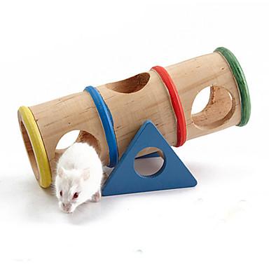 Mus & rotter / Hamster Tre Bur Blå og Rød