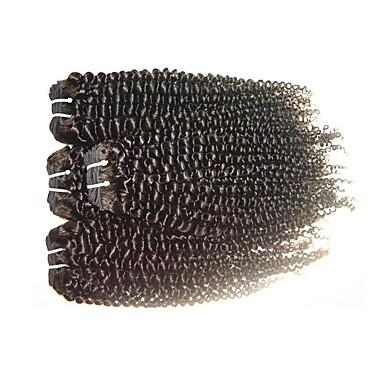 Cabello humano Extensión Natural Remy Rizado / Kinky Curly Cabello Brasileño 400 g 1 Año
