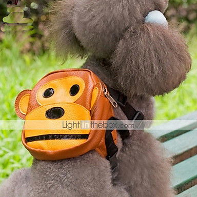 Собака рюкзак Одежда для собак Мультипликация Ткань Костюм Для домашних животных Муж. Жен. Очаровательный