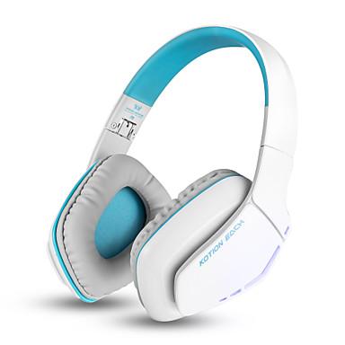 KOTION EACH B3506 Sem Fio Fones Piezoeletricidade Plástico Celular Fone de ouvido Com controle de volume / Com Microfone / Luminoso Fone
